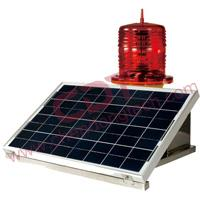 CM-012TR Solar-Powered Medium Intensity Aviation Obstruction Light type B